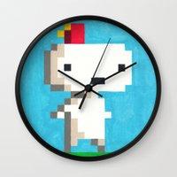 selena gomez Wall Clocks featuring Gomez by mFerbrache