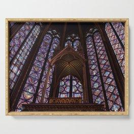 Sainte-Chapelle Paris II Serving Tray