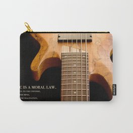 Music is a Moral Law Carry-All Pouch