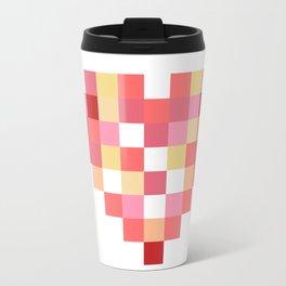 Squares of Love Travel Mug