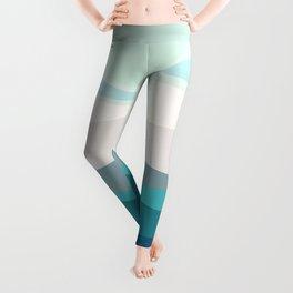 blue ocean Leggings