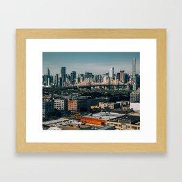 Queens Framed Art Print