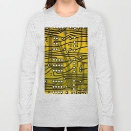 Electronics Yellow Long Sleeve T-shirt