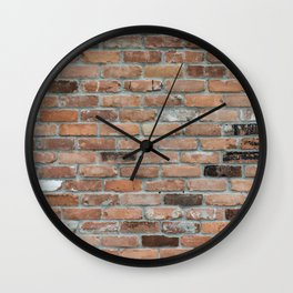 wall bricks Wall Clock