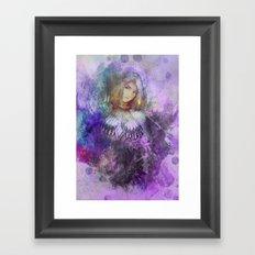 Minnowing Framed Art Print