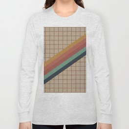 Old Video Cassette Palette Long Sleeve T-shirt