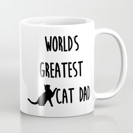 World's Greatest Cat Dad Coffee Mug