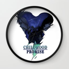 FFVII : A Childhood Promise Design Wall Clock