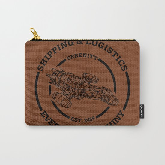 SERENITY SHIPPING AND LOGISTICS Carry-All Pouch