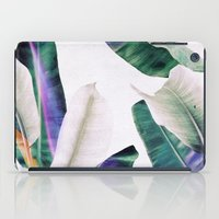 tropical iPad Cases featuring tropical #1 by LEEMO