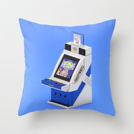 Capcom Q25 Throw Pillow