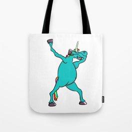 Unicorn Dabbing Tote Bag