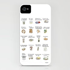 Foods of Arrested Development - Season 4 iPhone (4, 4s) Slim Case