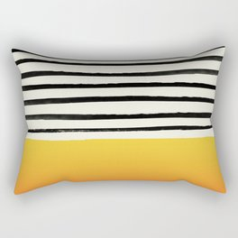 Sunset x Stripes Rectangular Pillow