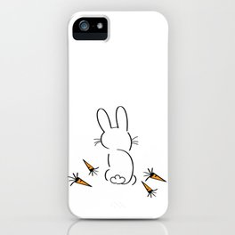 Creatures and Chow - #1 Rabbit iPhone Case