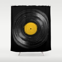 Sound System Shower Curtain