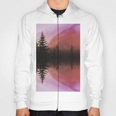 Sunset forest reflections Hoody