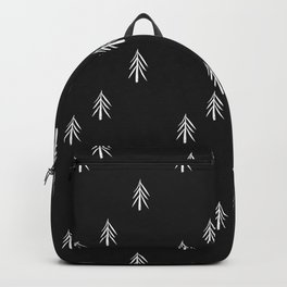 nordic fir trees Backpack