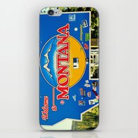 montana iPhone & iPod Skins featuring Montana by americansummers