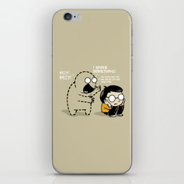Worst Imaginary Friend Ever iPhone Skin