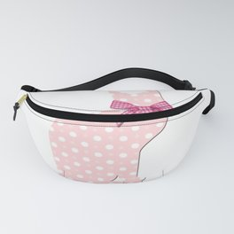 cute pink roses Fanny Pack