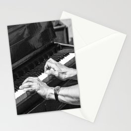 Play the Piano Stationery Cards