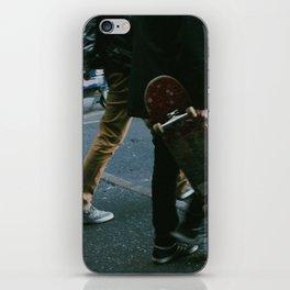 Skaters in Waterloo, London iPhone Skin