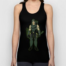 Green Arrow Unisex Tank Top