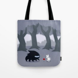 With a Friend Tote Bag