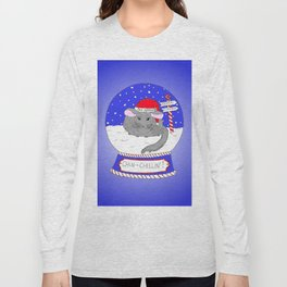 Chin-Chillin' Christmas Long Sleeve T-shirt