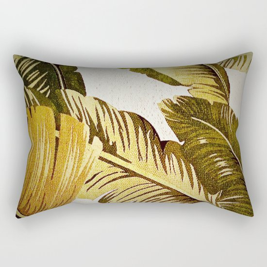 Palm Symphony Rectangular Pillow