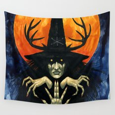 Autumn Conjurer Wall Tapestry