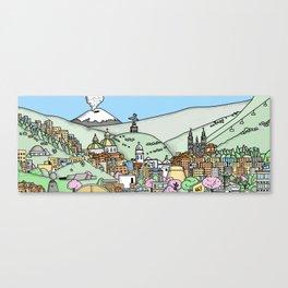 Quito Canvas Print