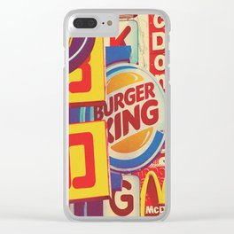 CLASH OF THE TITANS Clear iPhone Case