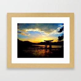 Miyajima Framed Art Print