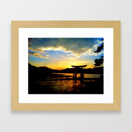 Miyajima Framed Art Print