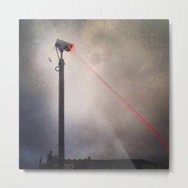 CCTV LASER BLASTER 2 Metal Print