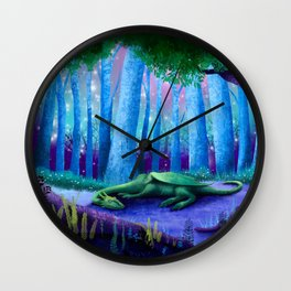 The Sleeping Dragon Wall Clock