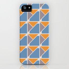 Retro Geometry surface pattern iPhone Case