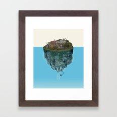 Island Lights Framed Art Print