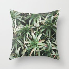 Aloe, mate. Throw Pillow