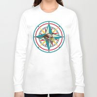 not all who wander are lost Long Sleeve T-shirts featuring Not all those who wander are lost by milanova