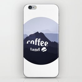 Coffee highland - I love Coffee iPhone Skin