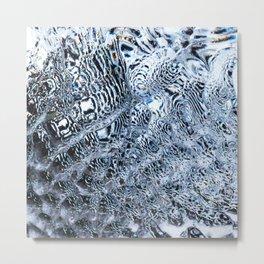 Slowly melting 2 (abstract) Metal Print