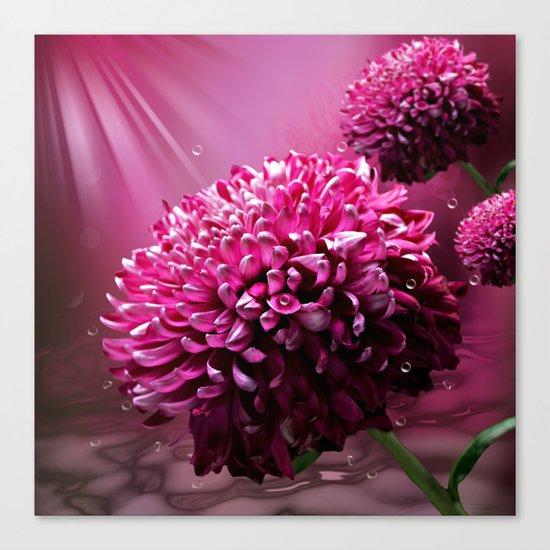 majestic flowers Canvas Print