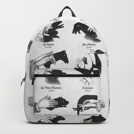Hand Shadows Backpack