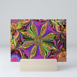 L.A. Flower Drop Mini Art Print
