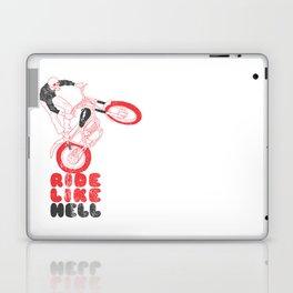 ride like hell Laptop & iPad Skin