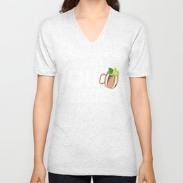 OK But First Moscow Mule Unisex V-Neck