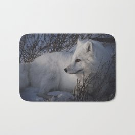 Arctic Fox Bath Mat